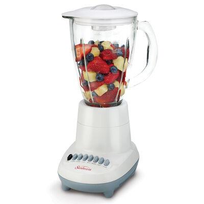 Sunbeam® 350 Watt 6 Speed Stand Blender, White