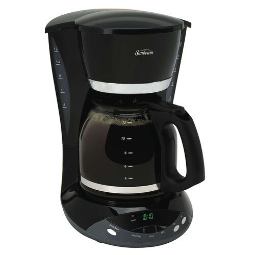 Champagne Coffee Maker ~ Sunbeam cup programmable coffeemaker champagne