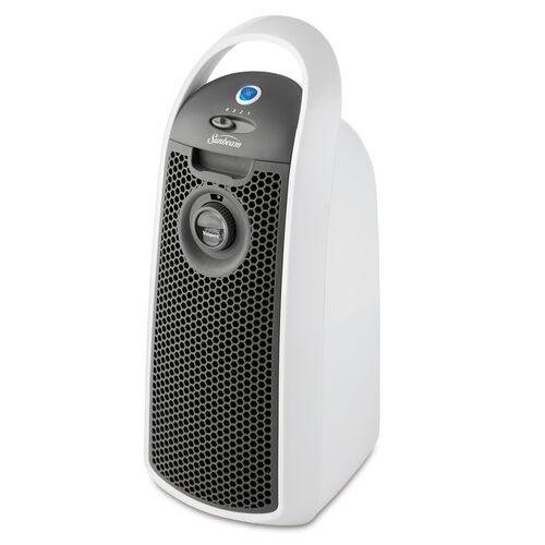 Sunbeam® Designer Series™ Visipure™ Mini Tower Air Purifier, White