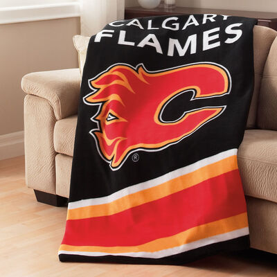 Sunbeam® NHL® Fleece Heated Throw, Calgary Flames®