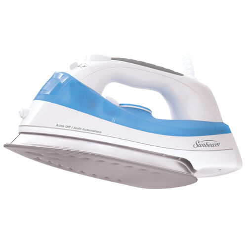 Sunbeam® Steam Master® Iron, White & Blue