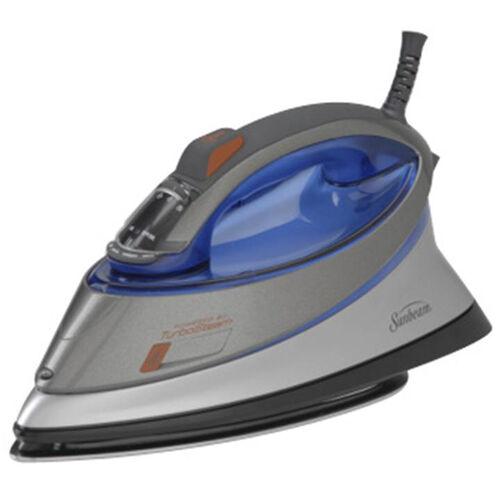 Sunbeam® Turbo Steam® Iron, Grey & Blue