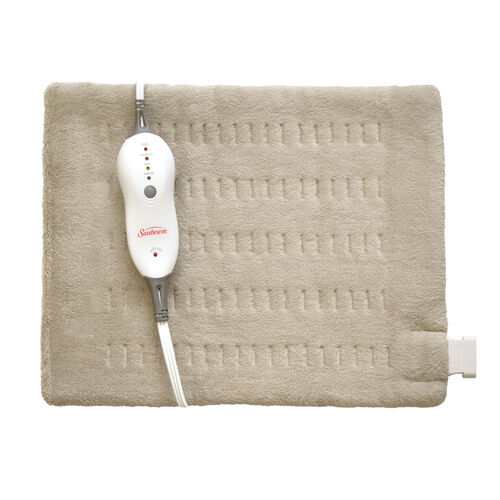 Sunbeam® Heating Pad with Digital LED Controller, Standard