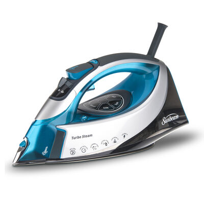 Sunbeam® Steam Master® Iron, Grey & Blue