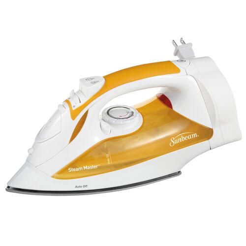 Sunbeam® Steam Master® Iron, White & Orange