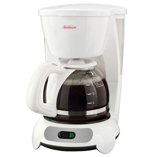 Sunbeam® 5-Cup Switch Coffeemaker, White