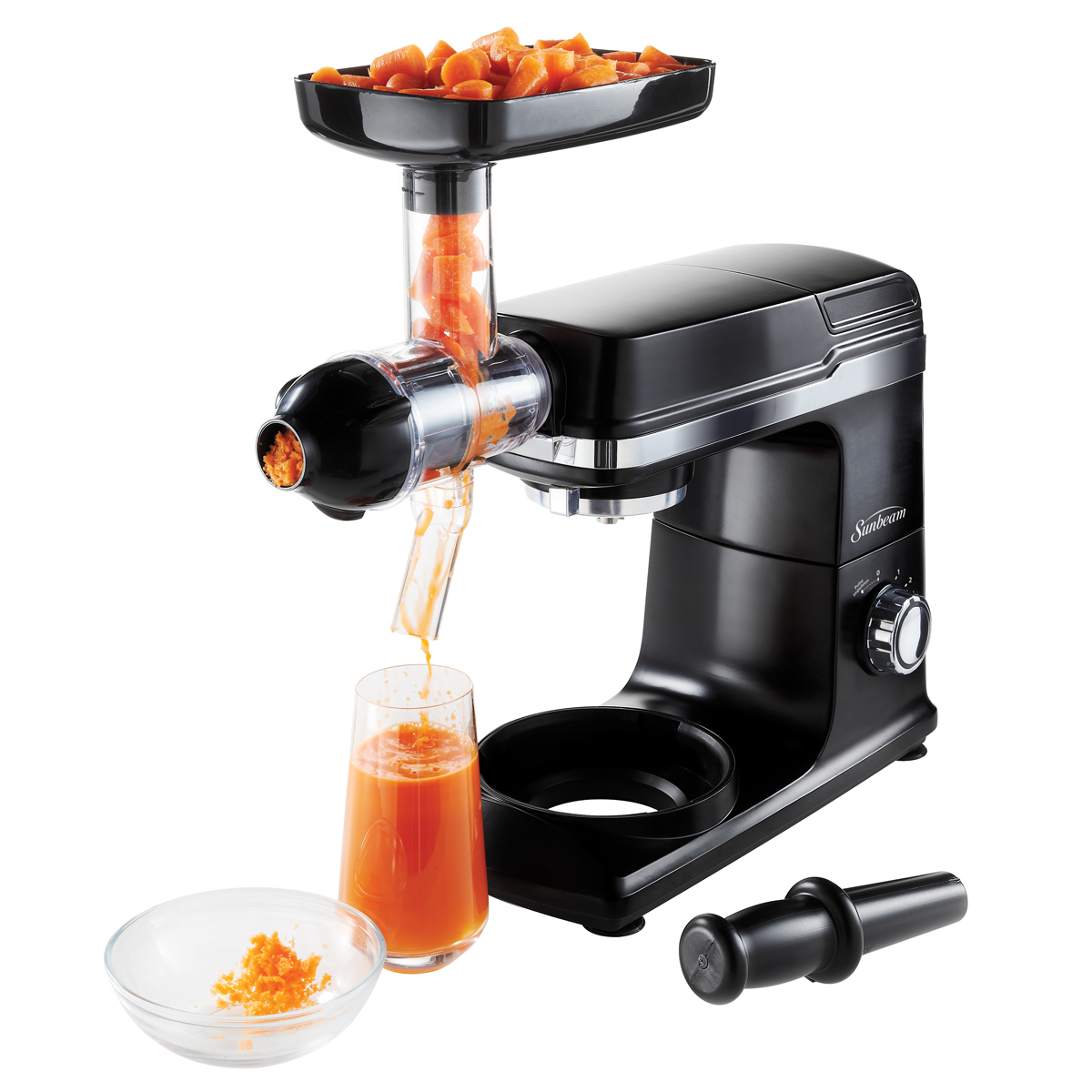 Slow Juicer Sunbeam : Sunbeam Mixmaster Planetary Stand Mixer Slow Juicer Attachment Sunbeam Canada