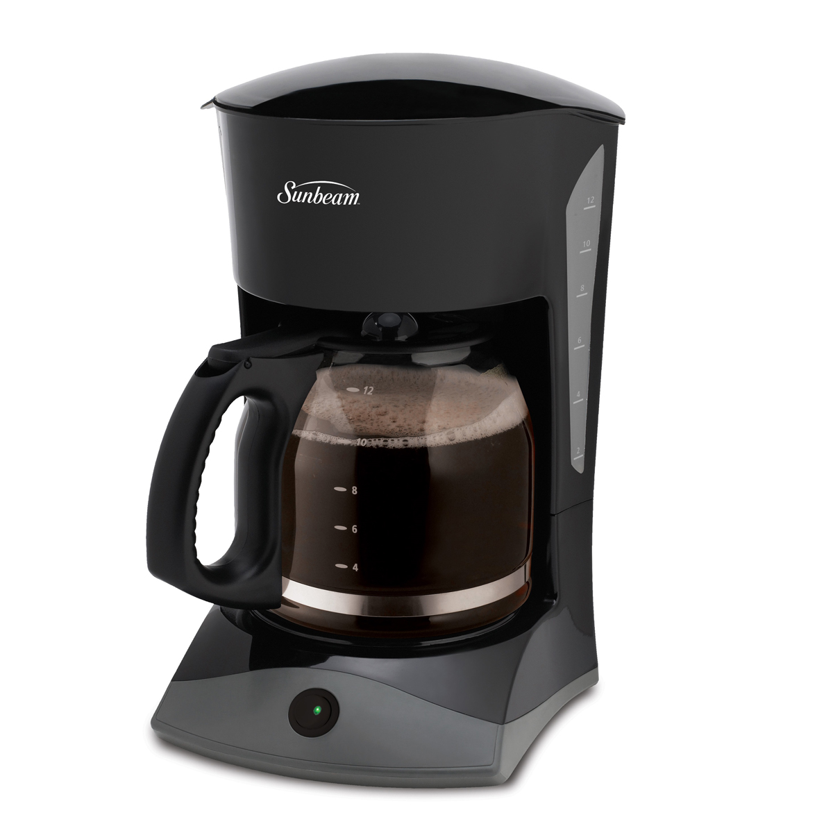 Sunbeam 12-Cup Switch Coffeemaker, Black 6972-033 Sunbeam Canada