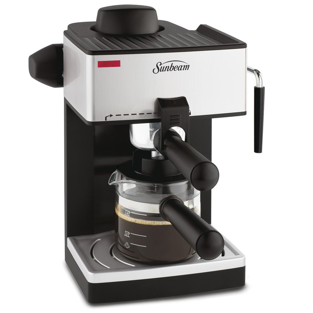 espresso and steam machine