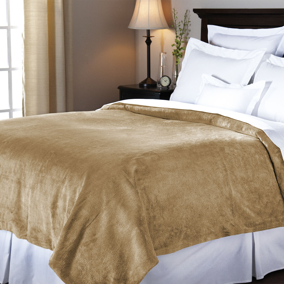 couverture chauffante sunbeam royal mink 1 place miel sunbeam canada. Black Bedroom Furniture Sets. Home Design Ideas