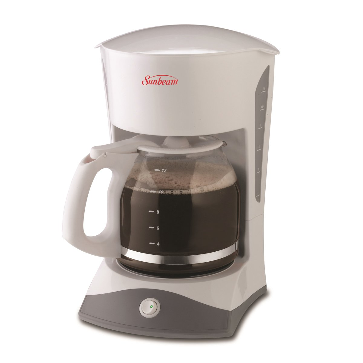 Sunbeam 12 cup switch coffeemaker white 6971 033 Coffee maker brands