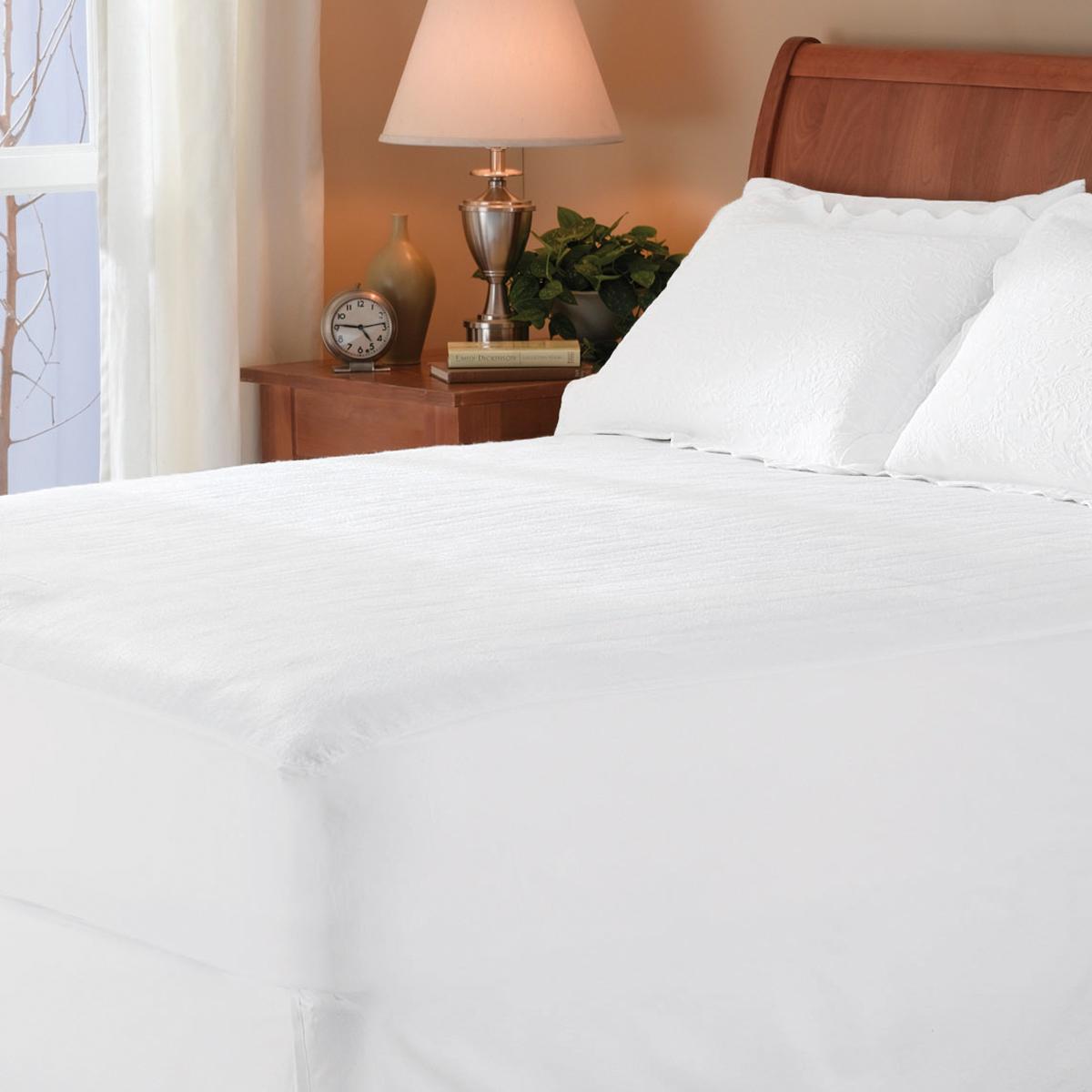 couvre matelas chauffant sunbeam piqu sunbeam canada. Black Bedroom Furniture Sets. Home Design Ideas