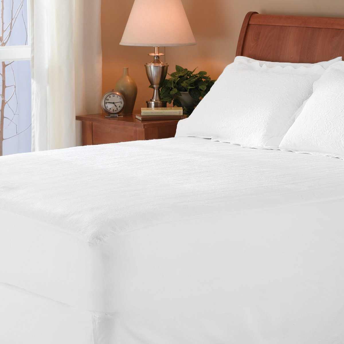 Sunbeam Heated Mattress Pad Queen MSU1GQS N000 12A50