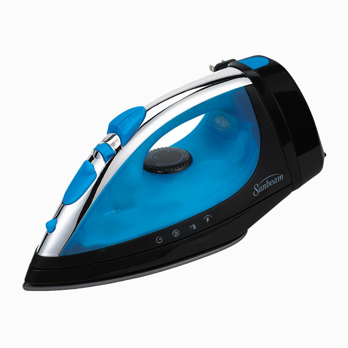 Sunbeam® Steam Master® Iron, Blue & Grey