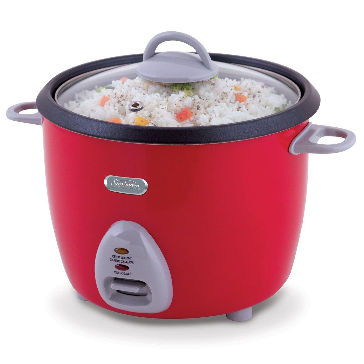 sunbeam 16 cup multi purpose manual rice cooker cksbrc165. Black Bedroom Furniture Sets. Home Design Ideas