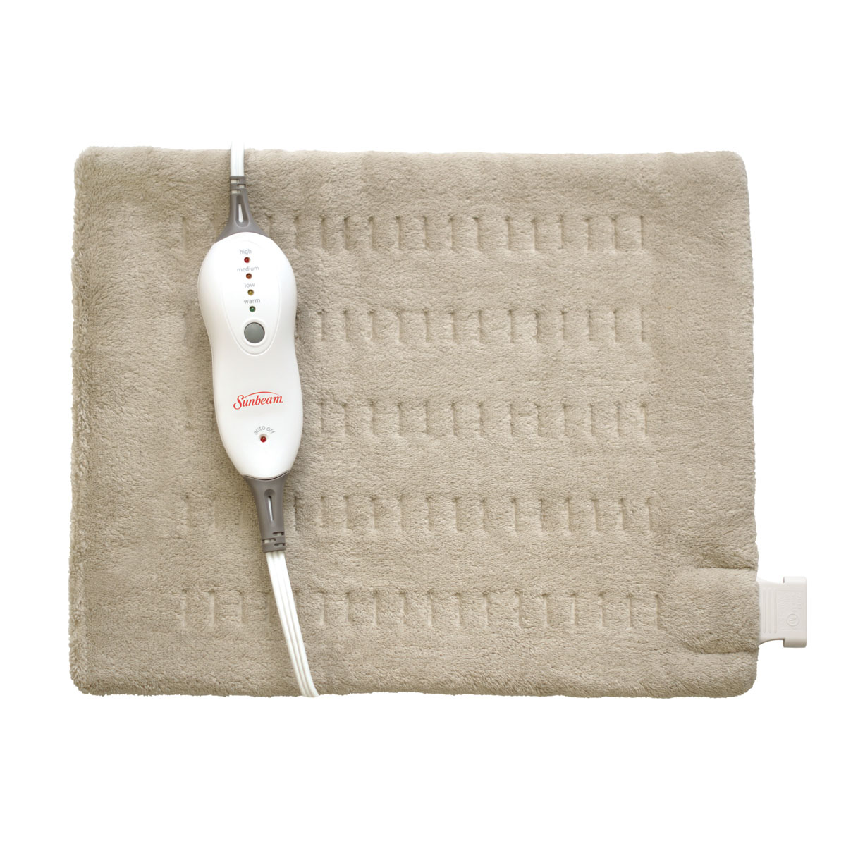 Sunbeam® Heating Pad with Digital LED Controller, King