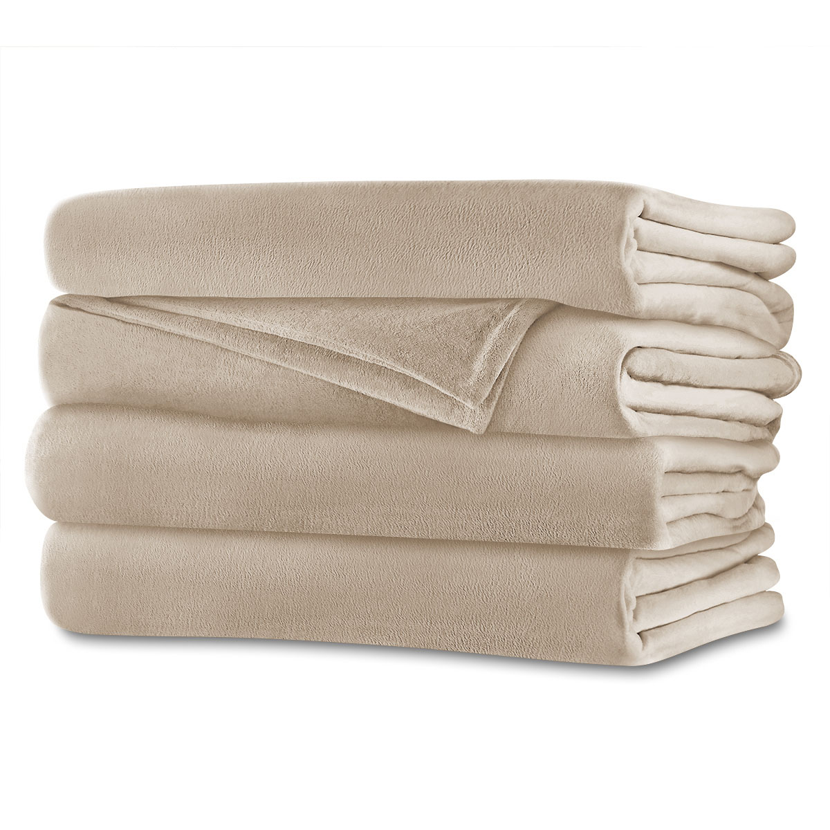 Sunbeam® Full/Queen RoyalMink™ Heated Blanket, ...