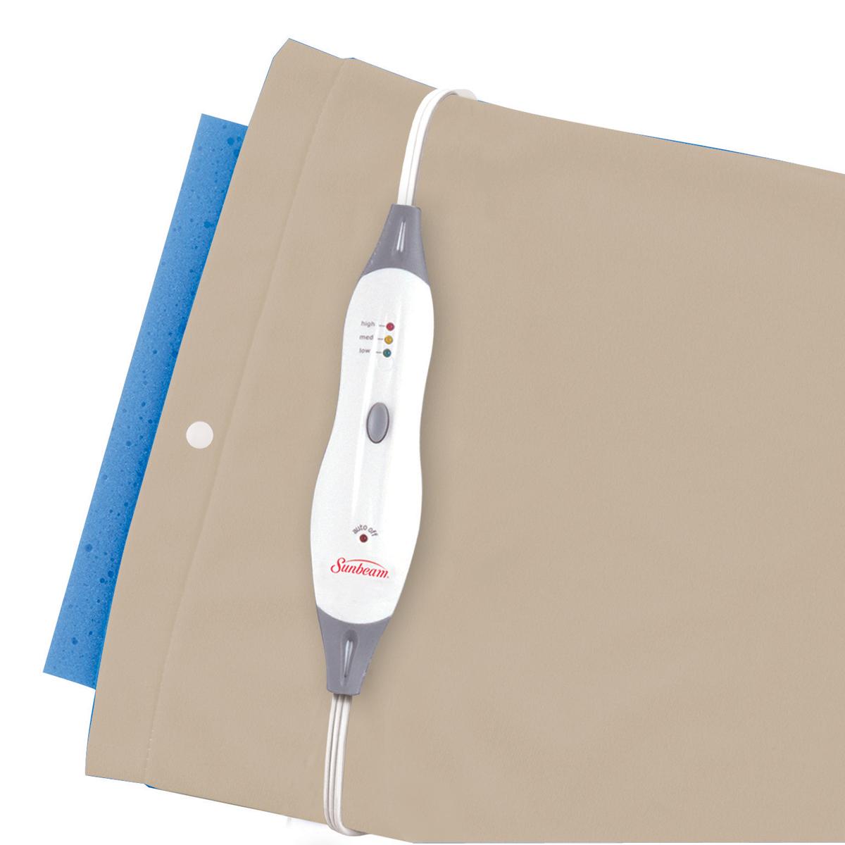 Sunbeam® Moist & Dry Heating Pad with Auto Off, Standard