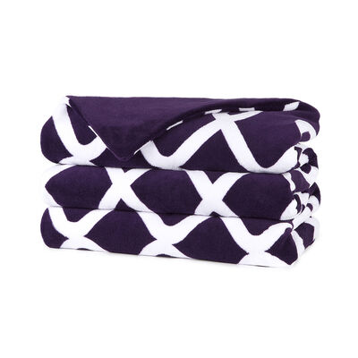 Sunbeam Cuddle Up Microplush Heated Throw With Pocket Deep Purple