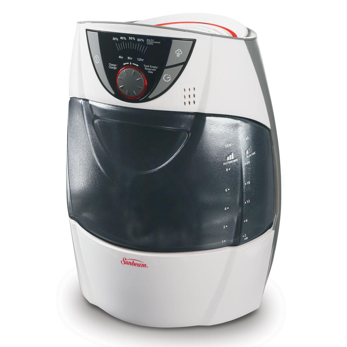 Sunbeam Warm Mist Humidifier Manual User Manual Guide