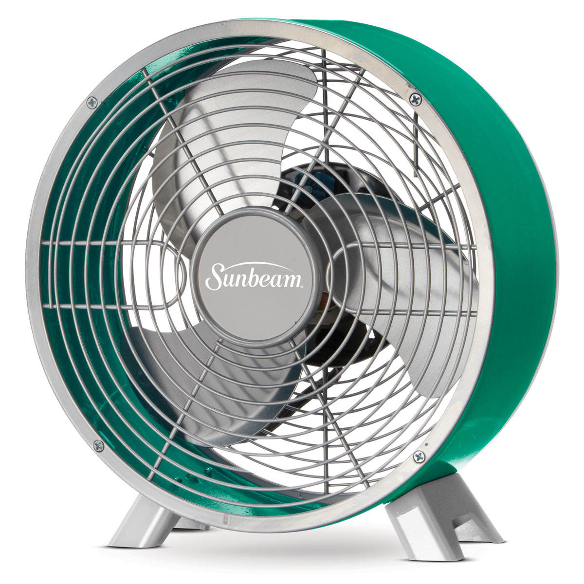 Table Fans At Walmart : Sunbeam designer series™ retro table fan teal